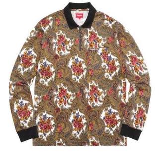 シュプリーム(Supreme)のSupreme  Paisley L/S Polo(ポロシャツ)