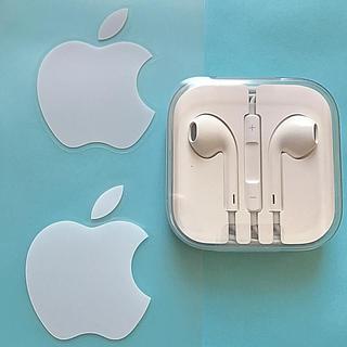 アイフォーン(iPhone)の【シールおまけ】iPhone・イヤフォン(ヘッドフォン/イヤフォン)