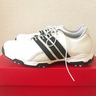 adidas - 【美品!】adidas(アディダス) ゴルフシューズ 24.5㎝