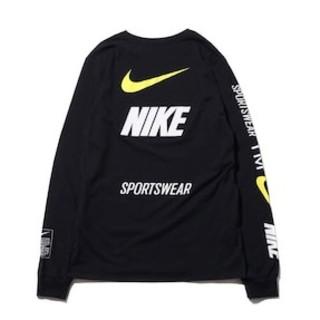 ナイキ(NIKE)のNIKE 新作!NIKE M NSW TEE LS OB/MBロングTシャツ★(Tシャツ/カットソー(七分/長袖))
