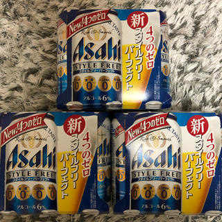 アサヒ(アサヒ)の発泡酒 500ml アサヒ スタイルフリー パーフェクト 18本(ビール)