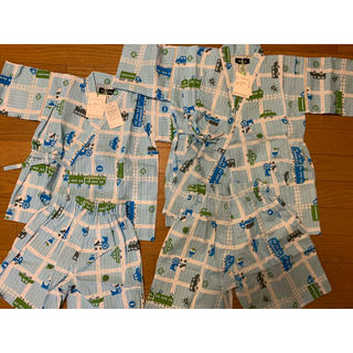 浴衣 男の子 セット 新品  80-90と110-120(甚平/浴衣)