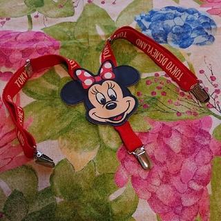 ディズニー(Disney)の東京ディズニーランド  ミニーちゃん サスペンダー(スカート)