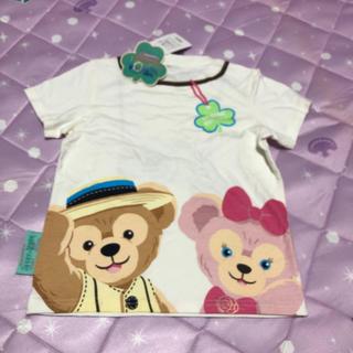 ディズニー(Disney)のディズニーシー購入☆ダッフィー&シェリーメイプリントTシャツ☆110(Tシャツ/カットソー)