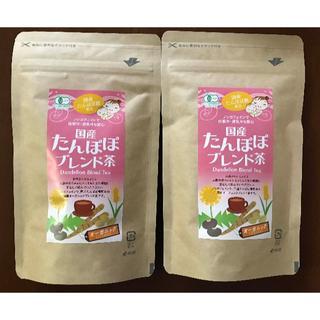 2袋 ★ 小川生薬 国産 たんぽぽ ブレンド茶 20袋 有機 ノンカフェイン(茶)