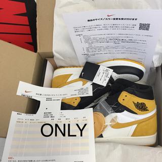 NIKE - 28センチ Nike Air Jordan 1 ナイキ エアジョーダン 黄色