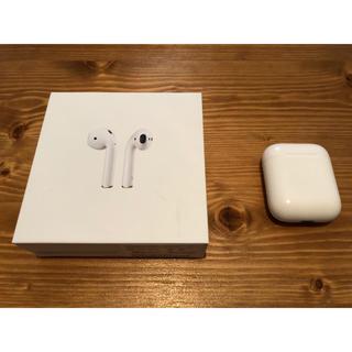 アップル(Apple)のAirPods充電ケース(ヘッドフォン/イヤフォン)