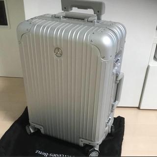 未使用保管品 ベンツ アルミ スーツケース 非売品(トラベルバッグ/スーツケース)