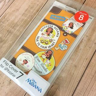 ディズニー(Disney)のモアナ iPhone8/7 フリップカバー DN418B(iPhoneケース)