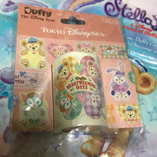 ディズニー(Disney)の新品✨ダッフィー♡シェリーメイ♡ジェラトーニ♡ステラルー♡シール30枚セット(キャラクターグッズ)