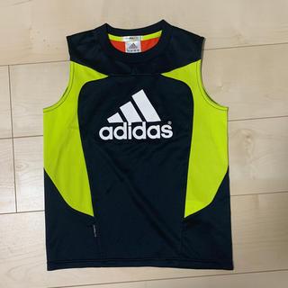 アディダス(adidas)の●130●アディダス サッカートレーニングウェア(記名あり)(その他)