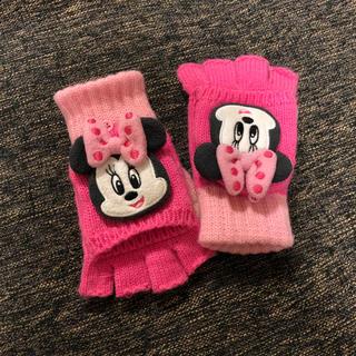 ディズニー(Disney)のDisney ミニーちゃん手袋 (手袋)