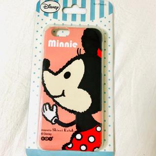 ディズニー(Disney)のiPhone6ケース カバー Disney ミニー(iPhoneケース)