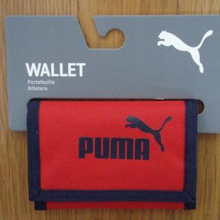 PUMA - PUMA プーマ かぶせ財布 ライトスカーレット