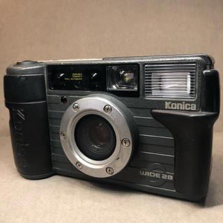 コニカミノルタ(KONICA MINOLTA)のkonica wide28 フィルムカメラ コニカ 現場監督(フィルムカメラ)