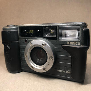 KONICA MINOLTA - konica wide28 フィルムカメラ コニカ 現場監督