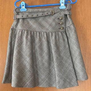 バーバリーブルーレーベル(BURBERRY BLUE LABEL)の【美品】バーバリー ブルーレーベル スカート 巻きスカート☆(ひざ丈スカート)