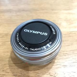 オリンパス(OLYMPUS)の【ジャンク】Olympus M.ZUIKO DIGITAL パンケーキレンズ(レンズ(ズーム))
