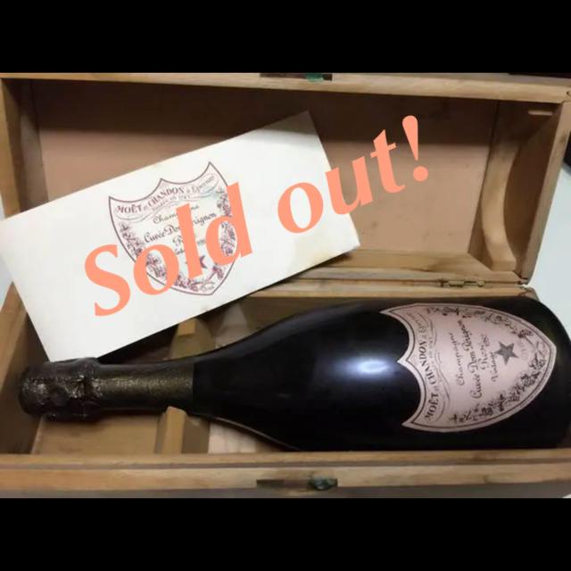 Dom Pérignon(ドンペリニヨン)の希少価値♡ドンペリニヨン ロゼ ヴィンテージ 1982 食品/飲料/酒の酒(シャンパン/スパークリングワイン)の商品写真