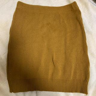 アメリカンアパレル(American Apparel)のアメリカンアパレル ニットタイトスカート(ミニスカート)