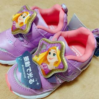 ディズニー(Disney)の02. 新品 / 箱付き / 光る靴! ラプンツェル ディズニー(スニーカー)