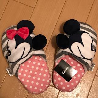 ディズニー(Disney)のミッキー&ミニー ルームスリッパ Disney ルームシューズ(スリッパ/ルームシューズ)