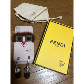 フェンディ(FENDI)のFENDI iPhoneケース Monster(iPhoneケース)