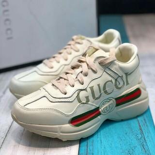 グッチ(Gucci)のGucci 18ss ロゴスニーカー(スニーカー)