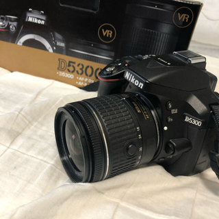 Nikon - 一眼レフ Nikon d5300 ダブルズームキット!