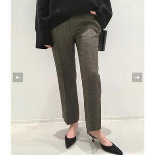 アパルトモンドゥーズィエムクラス(L'Appartement DEUXIEME CLASSE)のアパルトモンPolyestel Cropped Pants36(クロップドパンツ)