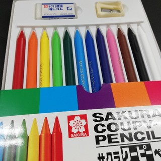 サクラクレパス(サクラクレパス)のクーピーペンシル 12色(色鉛筆 )