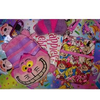 ディズニー(Disney)の不思議の国のアリス.チシャ猫 セット。【東京ディズニーリゾート限定】(キャラクターグッズ)