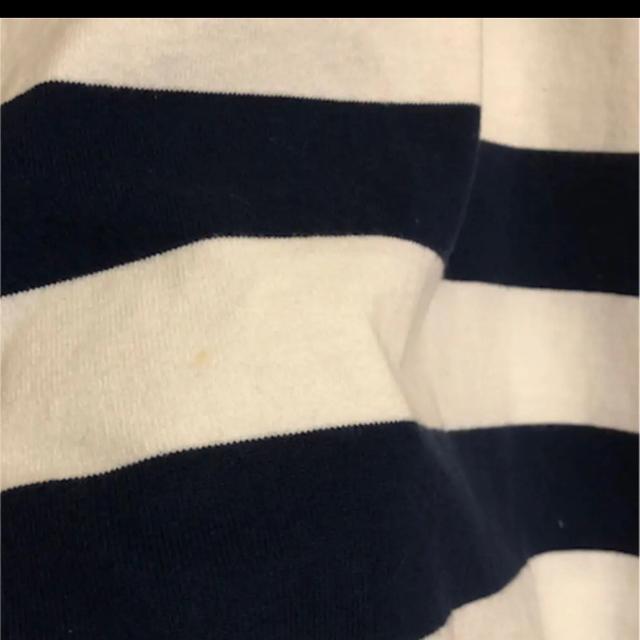 sacai luck(サカイラック)のサカイ ラック ボーダー パール ワンピース レディースのワンピース(ひざ丈ワンピース)の商品写真