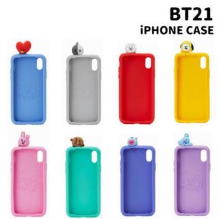 ボウダンショウネンダン(防弾少年団(BTS))のbt21 cooky iPhoneケース(iPhoneケース)