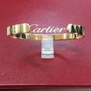 カルティエ(Cartier)のカルティエ ピンクゴールド ラブオープンバングル (ブレスレット/バングル)
