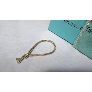 ティファニー(Tiffany & Co.)の正規 ティファニー ツイストチェーンキーリング コネクトキーホルダー ストリング(キーホルダー)