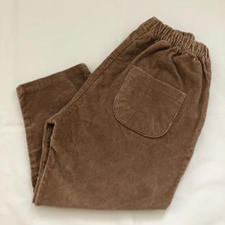 monmimi -  韓国子供服 モンミミ コーデュロイパンツ ベージュ 120cm