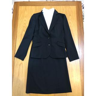 アオキ(AOKI)のAOKI リクルートスーツ  黒   3点セット(スーツ)