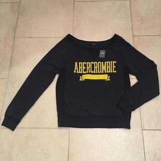アバクロンビーアンドフィッチ(Abercrombie&Fitch)のAbercrombie&Fitch アバクロ ロゴクルーネックスウェット新品(トレーナー/スウェット)