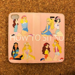 ディズニー(Disney)のディズニープリンセスiPhone6/6s/7/8 対応 手帳型ケース(iPhoneケース)