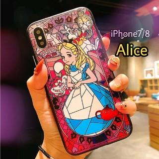 ディズニー(Disney)の★新品★アリス♪不思議の国のアリス★iPhone7/iPhone8ケース★✩.*(iPhoneケース)