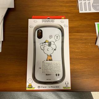 ピーナッツ(PEANUTS)の【新品】iphone x ケース iface スヌーピー(iPhoneケース)