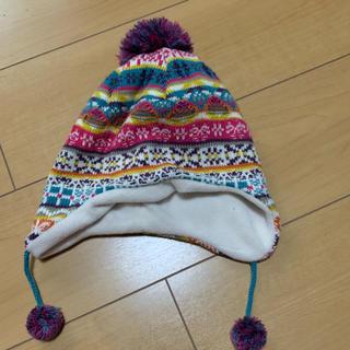 シマムラ(しまむら)のフワフワニット帽🐰❤️(帽子)
