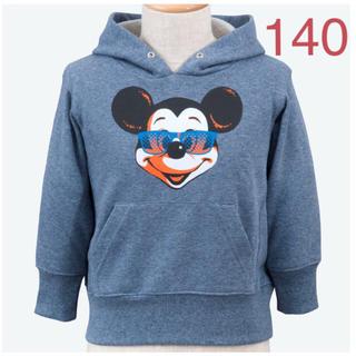 ディズニー(Disney)のディズニーリゾート パーカー ・ 子供用 パーカー ・ ミッキー パーカー(Tシャツ/カットソー)