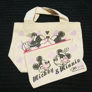 ディズニー(Disney)の新品・ディズニーミニトートバッグ&ポーチセット(トートバッグ)