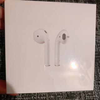 Apple - 【新品】AirPods  純正品 MMEF2J/A ワイヤレスイヤホン
