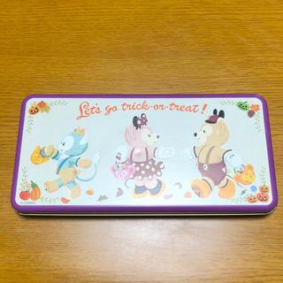 ディズニー(Disney)のダッフィー 缶(キャラクターグッズ)