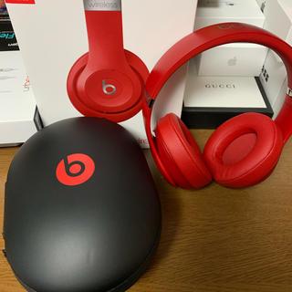 beats studio 3 wireless レッド(ヘッドフォン/イヤフォン)