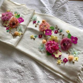 チェスティ(Chesty)の未使用  chesty 刺繍マフラー(マフラー/ショール)
