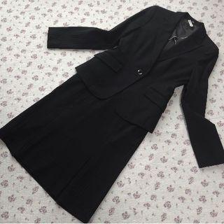 アイシービー(ICB)の アイシービー スカート パンツスーツ 40 ストレッチ W74 W76 濃茶(スーツ)